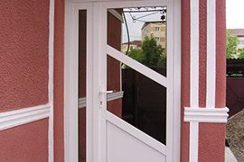 Usa cu geam termpan reflexiv bronze
